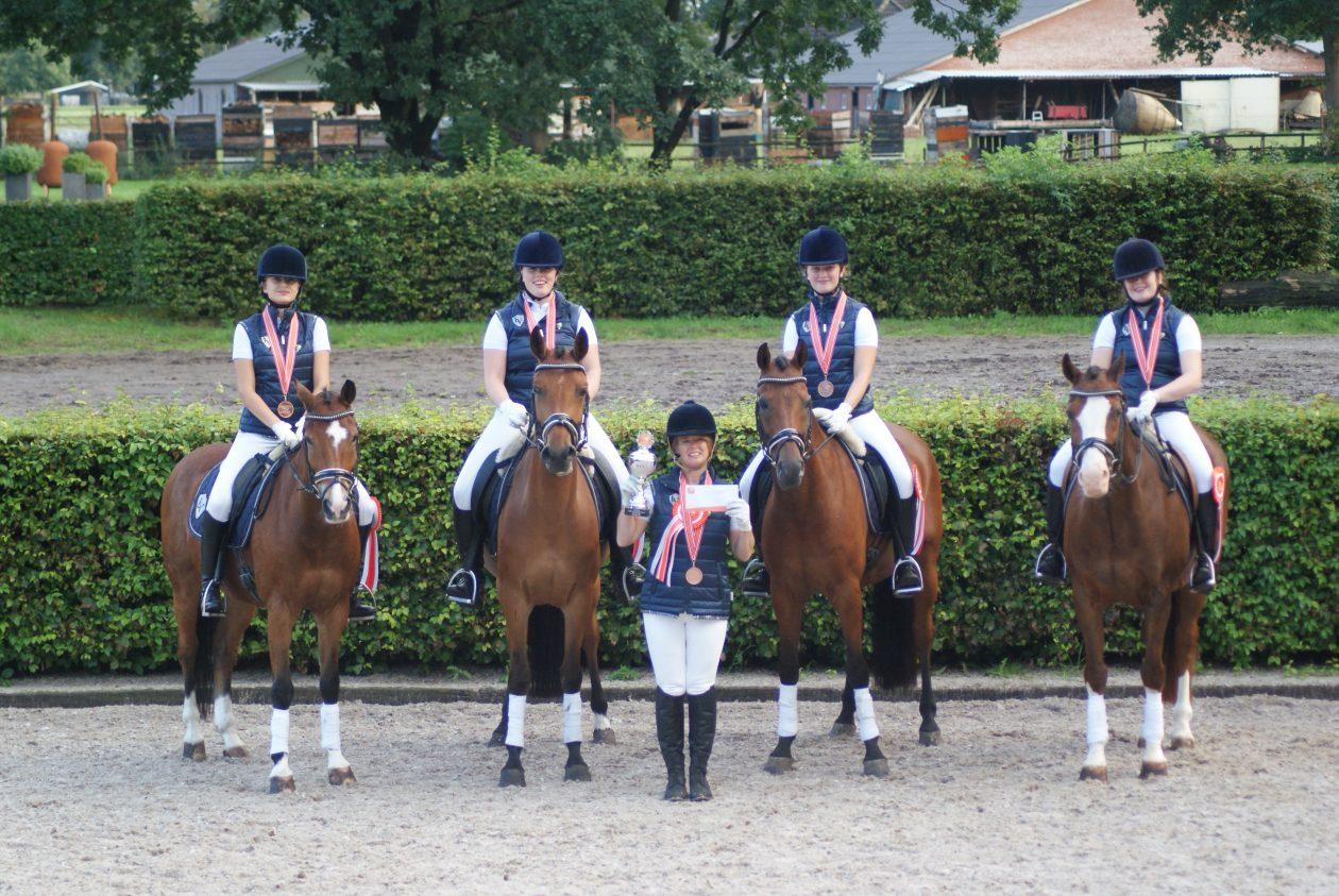 Bronzen medaille op NK voor team Klavertje 4!
