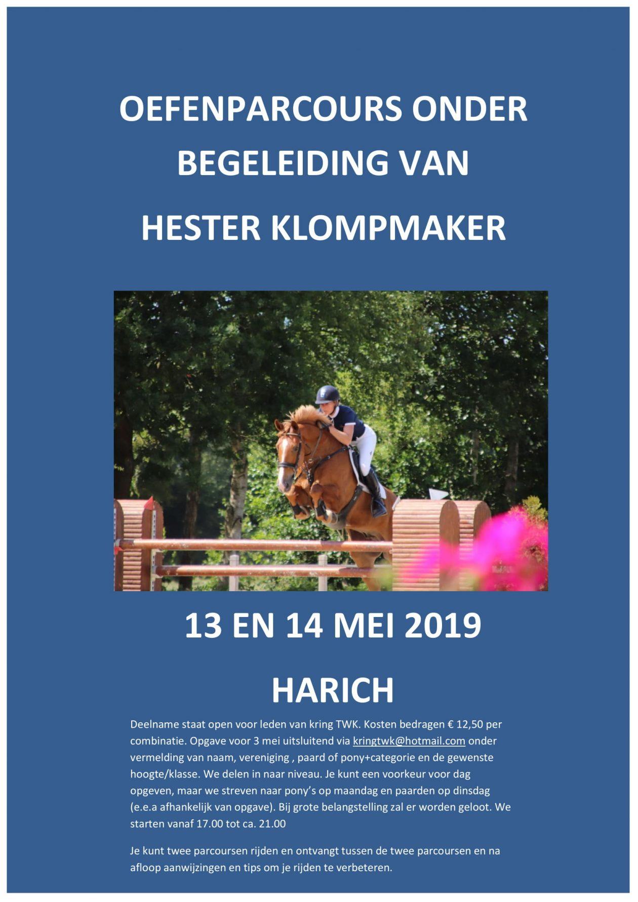 Springclinic o.l.v. Hester Klompmaker