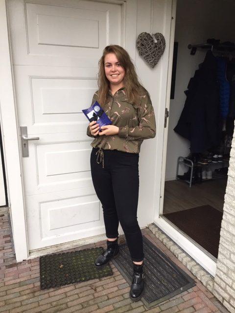 Danique van Dillen wint hoofdprijs verloting